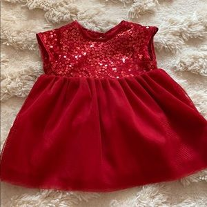 Brand New Red Dress with Bottoms
